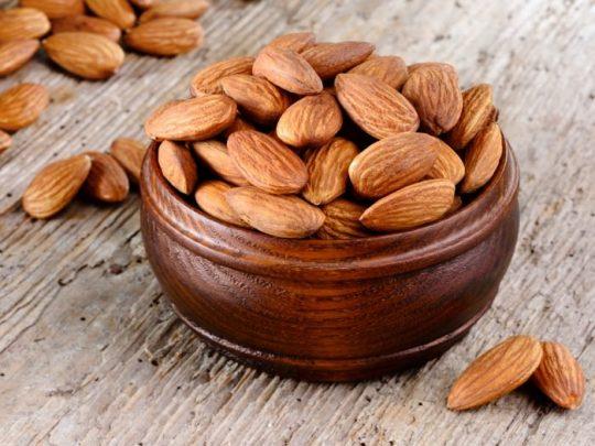 نتیجه تصویری برای Almonds